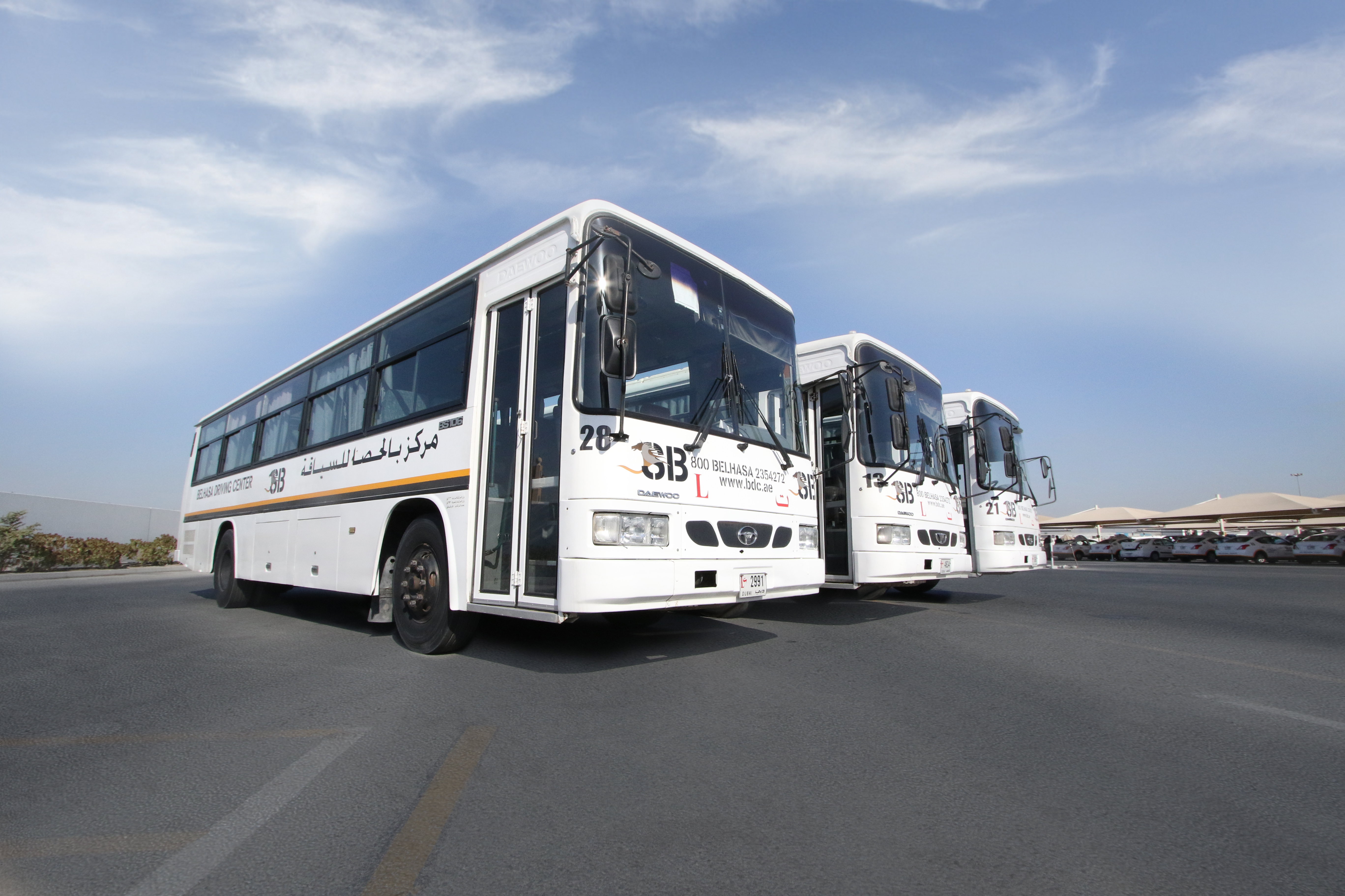 Heavy & Light Vehicle Bus – Belhasa Driving Center